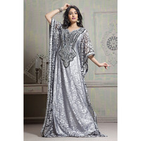 Festive Traditional Women's Fashion Handmade Designer Dress Kaftan Ethnic wear