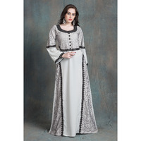 Gray Color Kaftan Ar ...