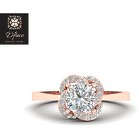 Cushion Diamond Enga ...