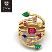 Multicolor Gemstone  ...