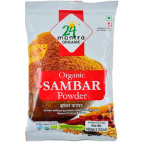24 Mantra Organic Sambar Powder - 100 Gm