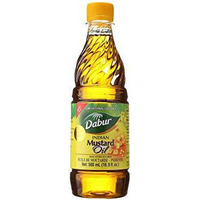 Dabur Mustard Oil - 16.9 Oz