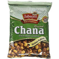 Jabsons Roasted Chana Nimboo Pudina - 150 Gm