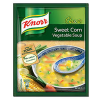 Knorr Sweet Corn Vegetable Soup - 44 Gm