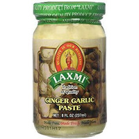 Laxmi Ginger & Garlic Paste - 8 Oz