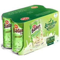 MTR Badam Drink Cardamom - 180 Ml (Pack of 6)