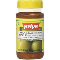 Priya Amla Pickle No Garlic - 300 Gm