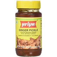 Priya Ginger Pickle No Garlic - 300 Gm