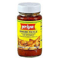 Priya Ginger Pickle With Garlic - 300 Gm