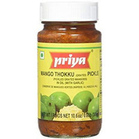 Priya Mango Thokku With Garlic Pick - 300 Gm