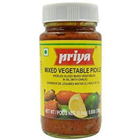 Priya Mixed Veg With Garlic Pickle - 300 Gm