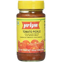 Priya Tomato Pickle No Garlic - 300 Gm