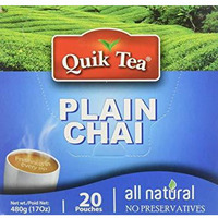 Quik Tea Plain Chai - 17 Oz
