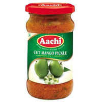 Aachi Cut Mango Pickle - 300 Gm