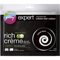 Godrej Expert Creme Natural Black - 20 Gm