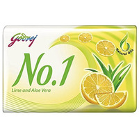 Godrej No. 1 Lime And Aloe Vera Beauty Soap - 115 Gm