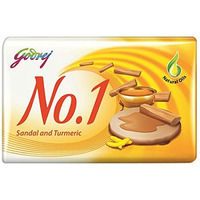 Godrej No. 1 Sandal And Turmeric Beauty Soap - 115 Gm