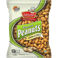 Jabsons Roasted Peanuts Lemon Chilli - 140 Gm