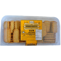 Golden Punjabi Biscuits Gur - 24 Oz