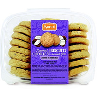 Surati Coconut Biscuits - 12 Oz