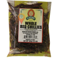 Laxmi Whole Red Chili - 100 Gm