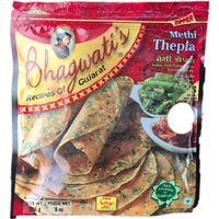 Bhagwatis Methi Thepla 8 Pc - 9 Oz