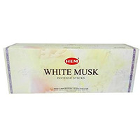 Hem White Musk Incense Sticks - 1 Box