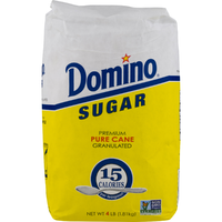 Domino Sugar Pure Cane - 4 Lb