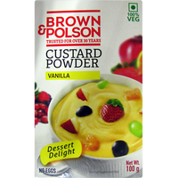 Brown And Polson Custard Powder Vanilla - 100 Gm