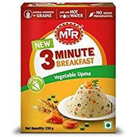 MTR 3 Minute Breakfast Vegetable Upma - 8.11 Oz
