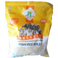 24 Mantra Organic Ponni Parboiled Rice - 4 Lb