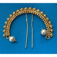 Trendy And Stylish hair brooch/ Juda Pin Jewellery # 3