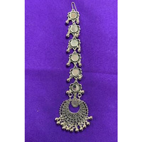 Traditional Antique Oxidized Style Mang Tikka # 11