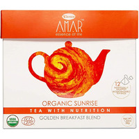 Amar Organic Sunrise Golden Breakfast Blend (Pack of 12)