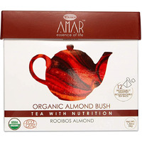 Amar Organic Almond Bush Rooibos & Almond (Pack of 12)
