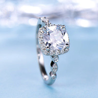 2ct Cushion Cut Diam ...