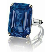 7.33ct Fancy Blue Em ...