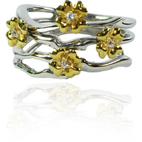 Dianna Jewels Flowering Vine Band