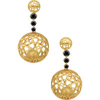 Dianna Jewels Golden Globe Earrings