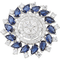 Dianna Jewels Spark In You Ring Synthetic Sapphire