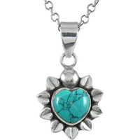 925 Sterling Silver Jewelry !! Handmade Turquoise Gemstone Silver Jewelry Pendant