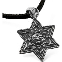 Star Design !! 925 Sterling Silver Pendant