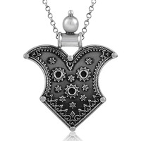 Handy!! Oxidised 925 Sterling Silver Pendant