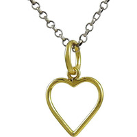 Big Relief Gemstone 925 Sterling Silver Jewelry Heart Pendant