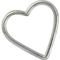 Well-Favoured 925 Sterling Silver Jewelry Heart Pendant