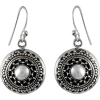 Awesome!! 925 Silver Pearl Earrings