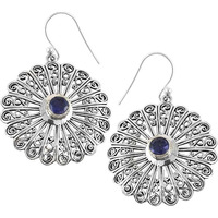 Jumbo Fantastic! 925 Silver Iolite Gemstone Earrings