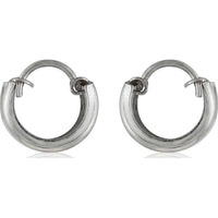 Fantastic!! 925 Sterling Silver Hoop Earrings