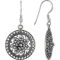 Gorgeous ! 925 Sterling Silver Dangle Earrings