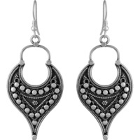 Ethynic Design ! 925 Sterling Silver Earrings